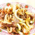 牛と玉ねぎのニンニク醤油スタミナ焼き