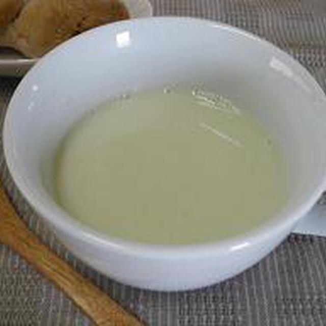 空豆★豆乳スープ♪