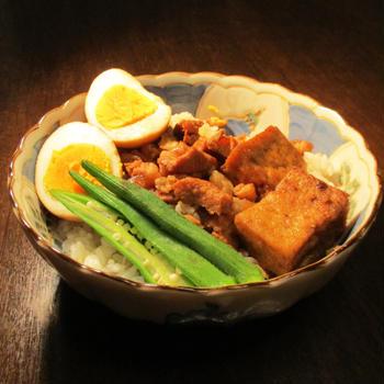 滷肉飯 燙青菜
