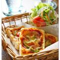冷凍パイシートで簡単! パイピザ