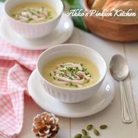 【おもてなし】鶏むね肉とじゃがいもの豆乳ポタージュスープ アスリート向けプロテインスープ