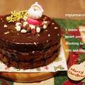 ママの絶品スポンジケーキでザッハトルテ風チョコケーキ