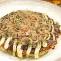 【和食】つくれぽ1000件ありがとう☆「キャベツと長芋で☆ふんわり関西お好み焼き」。&イギリスへ。 by きちりーもんじゃさん