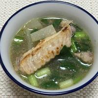 【ヤマキだし部】あごだしは中華に合う!鶏手羽と大根のあっさりスープ