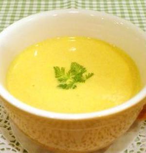 優しい味の人参スープ♪*人参の葉も使おう!