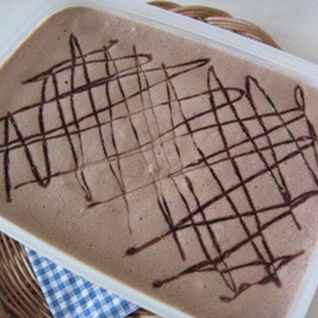 超かんたん!!チョコアイスクリーム♪