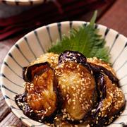 ふわとろなすの甘酢ごまあえ【#作り置き #お弁当 #食材ひとつ #おつまみ #副菜】