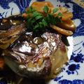 たけのこレシピ! 鯛あらとたけのこ煮 by Amaneさん