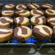 マーブルクッキーレシピ