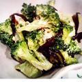 茎までおいしいブロッコリーのごま昆布マヨ