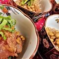【レシピ】簡単★1分★おつまみにも★丼にも【マグロのおかか納豆】 by ☆s4☆さん