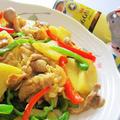 [簡単*美味しい*減塩レシピ♪]シャキシャキポテトのカレー炒め by satorisuさん