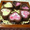 <バニラ香る☆簡単デコ生チョコタルト>