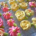 インスタ映えな☆お花のメレンゲクッキー
