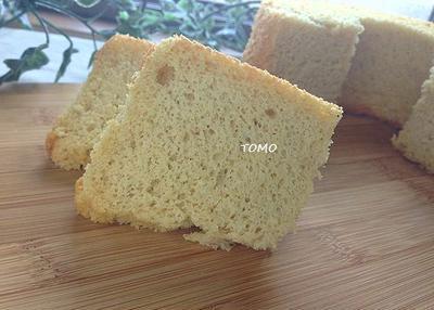 ヘルシー♪ダイエット中のおやつに!米ぬかと米粉のノンオイルシフォンケーキ