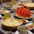 【レシピ】夏の韓国うどん。~冬は煮込みで、夏はひやあつで!~