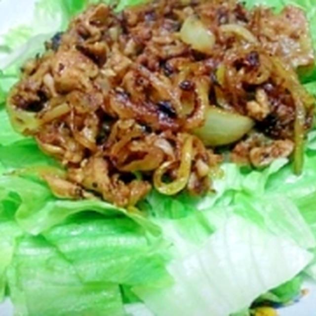 カリカリ豚カレー