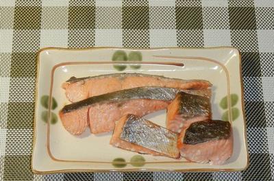 秋鮭の塩麹漬け