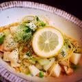 お野菜たっぷり☆白菜と長芋のスパゲティ