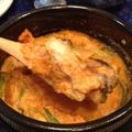 「キムチと牡蠣のおからチゲ」。 by イェジンさん