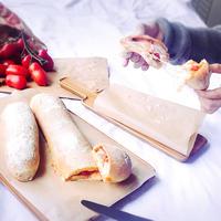 とろーりチーズがおいしい♡イタリア風パン♡