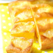 パイン缶で作る♡ジューシー♡パイナップルケーキ