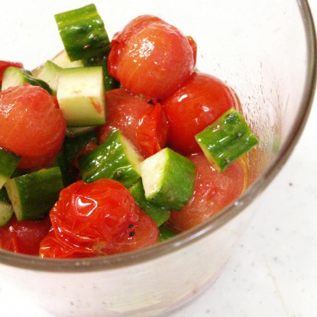 簡単!セミフレッシュトマト♪レシピ♪&野菜スイーツ倶楽部♪