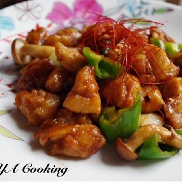 家族デーと欲しいもの♡鶏と野菜の中華炒め