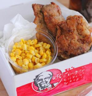クリスマスに食べたくなる!KFCのフライドチキンを再現