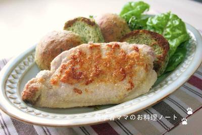 作り置きランチ☆豚肉のアーモンドソテー