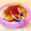 【ヘルシースイーツ】究極のふわふわ感♪小麦粉・乳製品不使用のブルーベリーパンケーキ