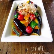 ♡めんつゆde超簡単♡カラフル野菜の揚げびたし♡【作り置き*野菜*なす】
