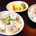 しらす豆腐丼 by みなづきさん