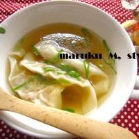 納豆のワンタンスープ!(美容のスープ)