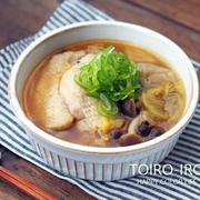 あったまる★ホロホロ柔らか手羽先と白菜のピリ辛スープ