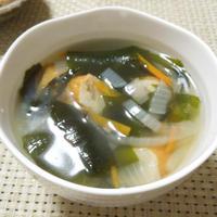 ◇いの一番☆ごぼう天の塩スープ