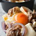 おかわりー!♥だし香る♥豚豆腐丼【#さっと煮 #大盛りで食べたい】10分 ヤマキだし部 by 青山 金魚さん