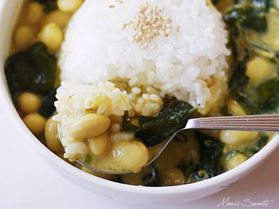 >焙煎ごまスープからスープカレーへ by *Manis*さん