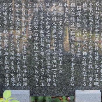 ≪静岡県≫御前崎に伝わる「猫塚伝説」を辿ってみました