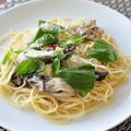 【卵胞すくすくレシピ】亜鉛が1.5日分とれる♪かき(牡蠣)のシンプルパスタ