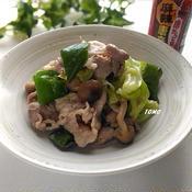 キャベツと豚肉のピリ辛味噌マヨ炒め
