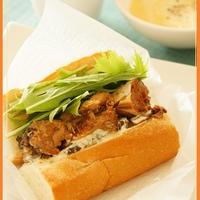 醤油鯖缶で「和風鯖サンド」【レシピ】
