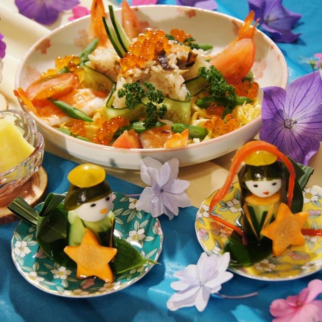 【七夕料理】華麗に沢山魅せます~ええっ!本当かな^^♪