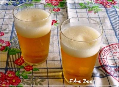 父の日に最適☆ビールみたいなりんごゼリー
