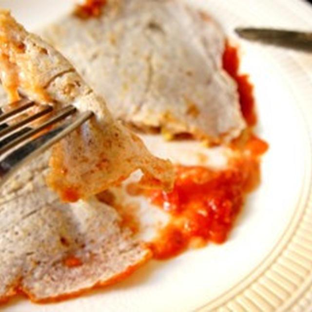 フライパンで簡単、とろけるチーズのイタリアンガレットで……昼から酔いどれて……