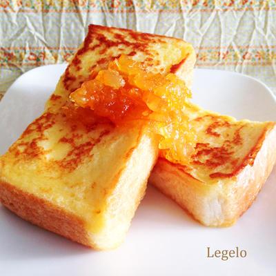 ヨーグルトでフレンチトースト☆朝ごはんに♪