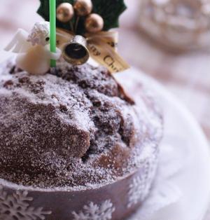 ホットケーキミックスdeクリスマスケーキ第1夜