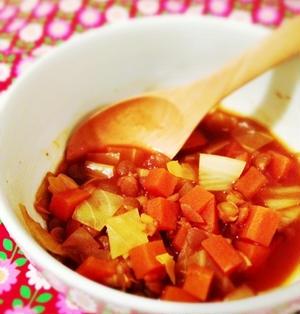 レンズ豆とお野菜のスープ〜お野菜だけどブイヤベース風〜 (レシピ)