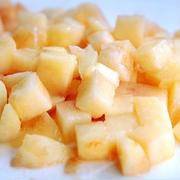 暑い日の焼き菓子•••と、禁断の桃。