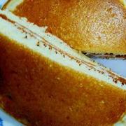ふんわりチーズサンド・ホットケーキ